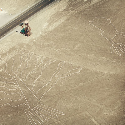 The Nazca Lines are a UNESCO world heritage site
