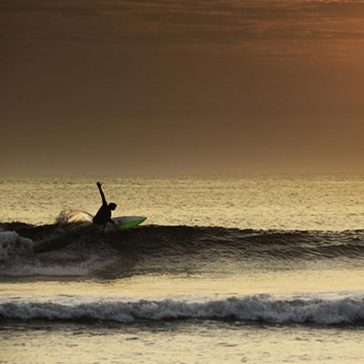 Ideal Surfing Destination