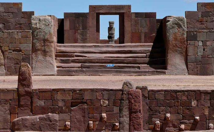 Visit the Inca site of Tiahuanaco on a private luxury tour of Bolivia