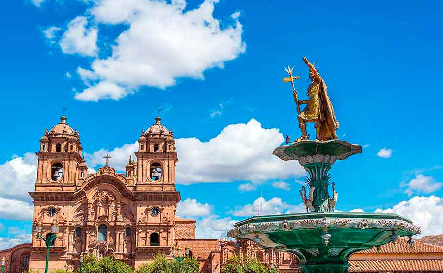 Destination Cusco Plaza de Armas