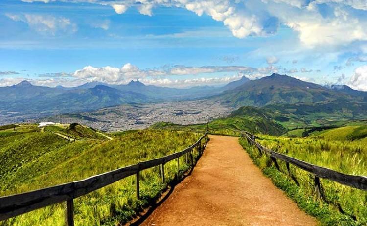 Ecuador to the Avenue of Volcanoes