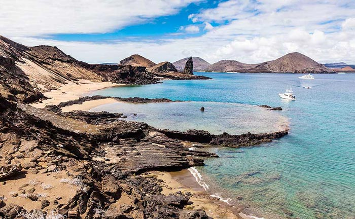 Embark on a private luxury cruise tour of the Galapagos Islands