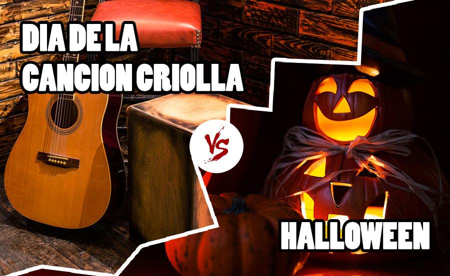 halloween vs da de la cancin criolla - Halloween Dia