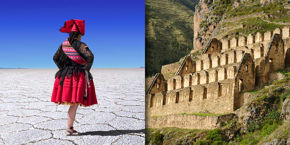 Visit the Salt Flats of Uyuni and the ruins of Ollantaytambo on a custom luxury tour of Peru & Ecuador