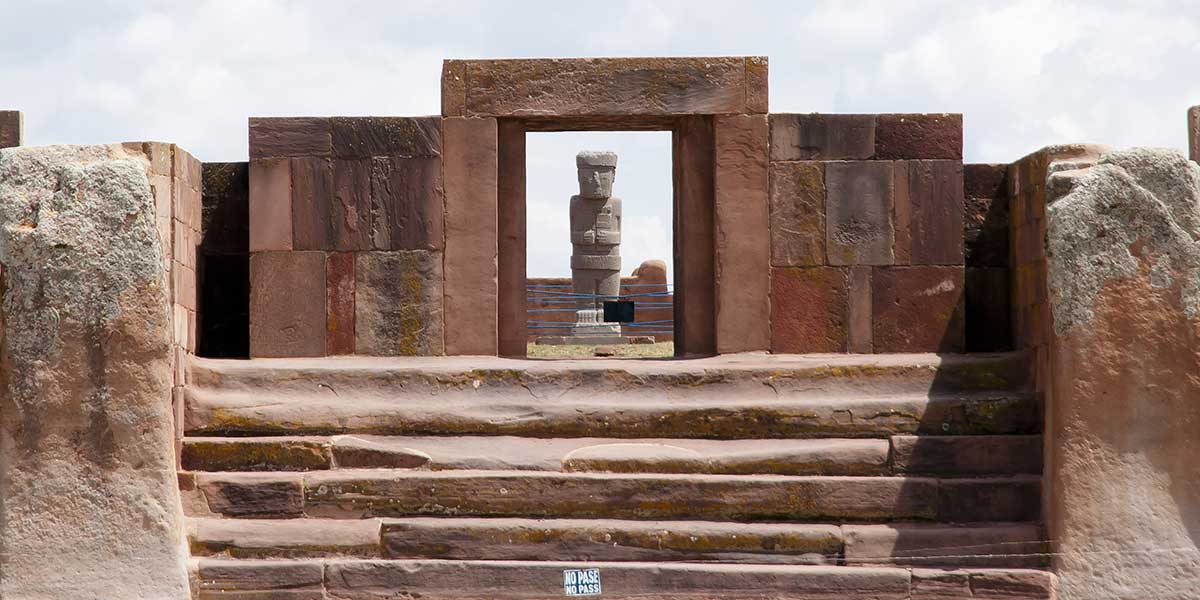 Visit Tiahuanco, an ancient inca site on your customized Bolivia tour