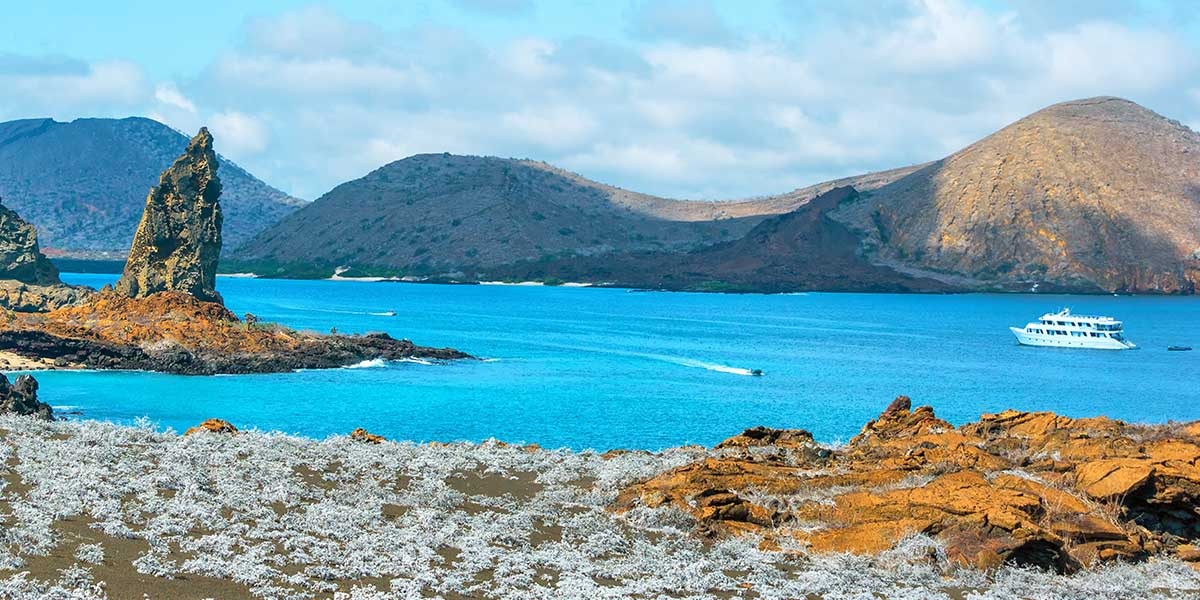 Explore the Galapagos Islands on a luxury cruise tour