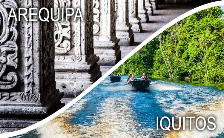 When You Only Have Time for One: Arequipa vs. Iquitos