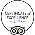 excellence award trip advisor
