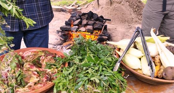 Traditional Pachamanca