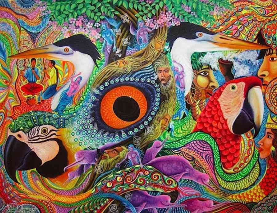 Pablo Amaringo: A True Visionary Artist of the Peruvian Amazon