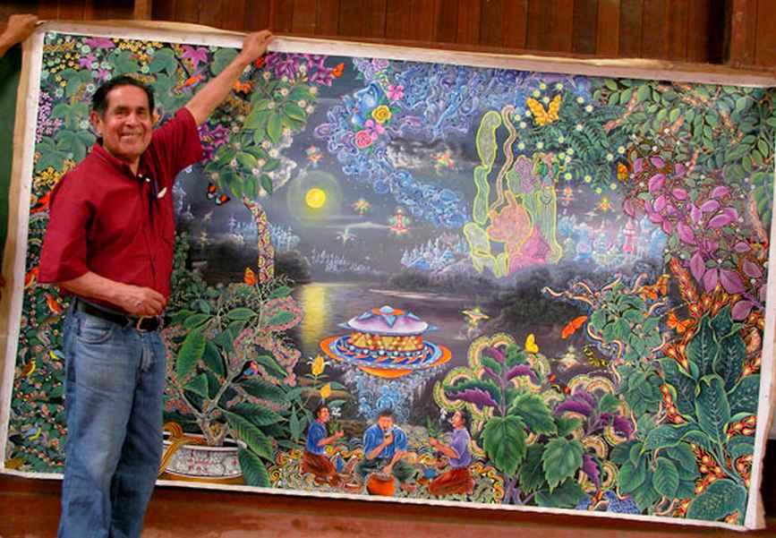 pablo-amaringo-artist-peruvian