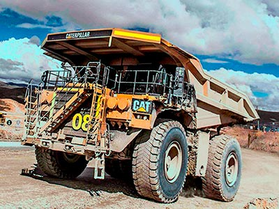Gold mine Peru