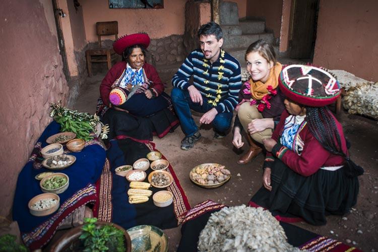 Small Quechua Village