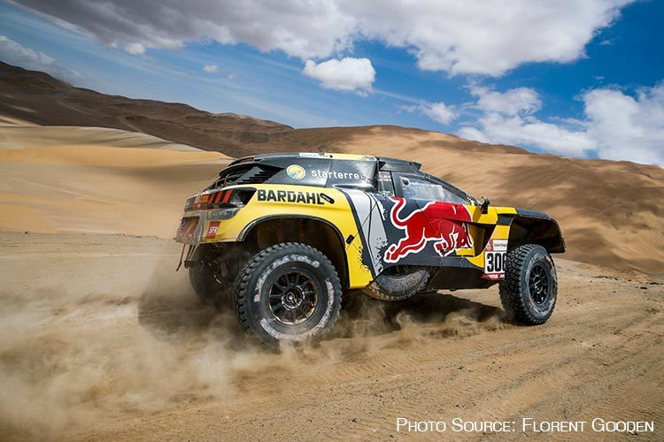 Follow the Route of the Dakar Rally in Peru