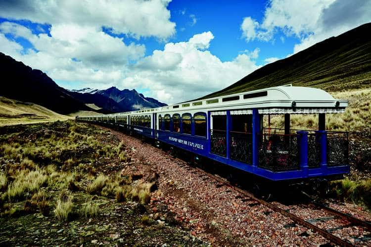 Peruvian travel by train