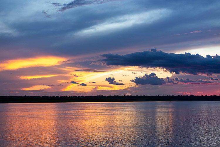 Amazon, Sunset