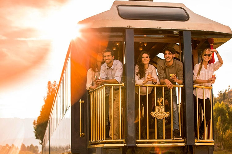 What's it like on board the Belmond Hiram Bingham train?