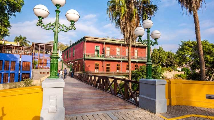 Visit the Bohemian District of Barranco during your Peru Holiday