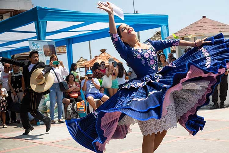 Dancing the Marinera in Trujillo: Peru's Famous National Dance