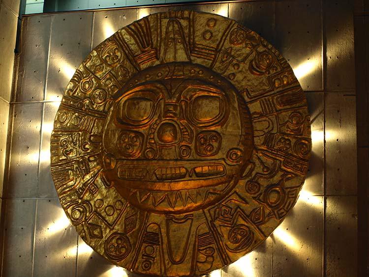 Qoricancha sun