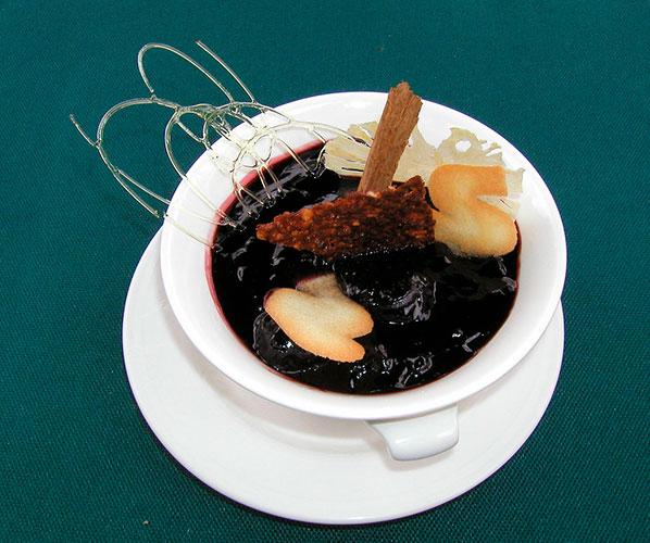 Peru culinary experience mazamorra