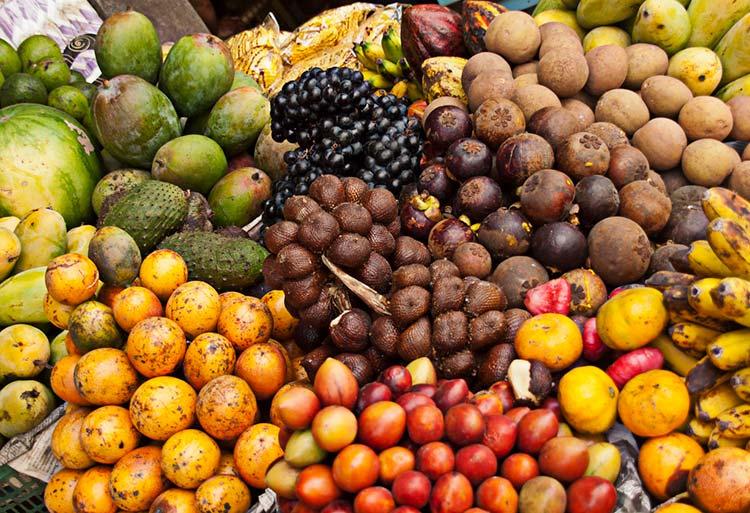 Peruvian Fruits: Exotic, Luscious, Tart, and Sweet