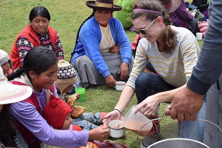 Celebrate Christmas Peru tradition