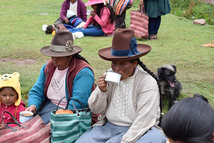 Celebrate Christmas Peru womens