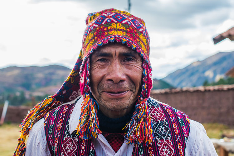 The Traditional Fashion of Andean Men