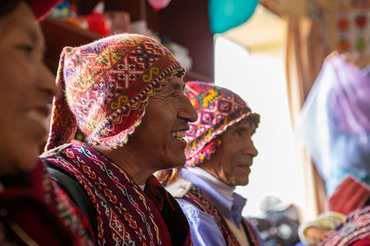 Peruvian clothing of the Andes chullo