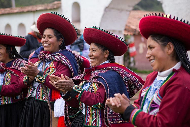 Traditional Fashions of Andean Women