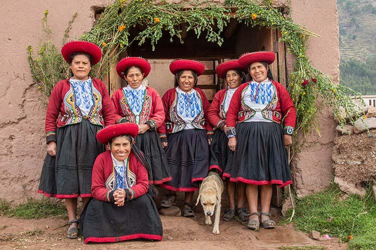 Peruvian andean women