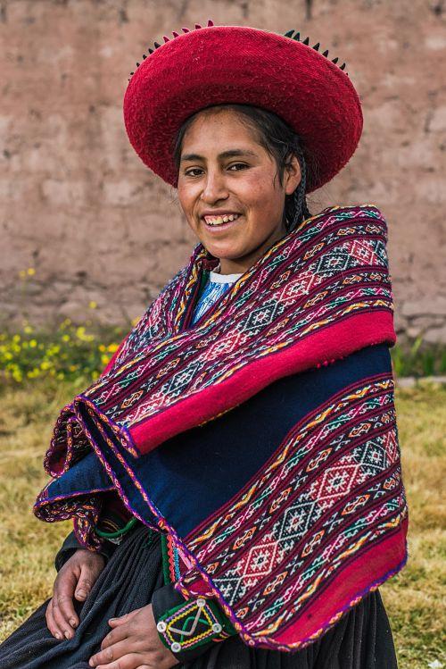 Peruvian andean dress
