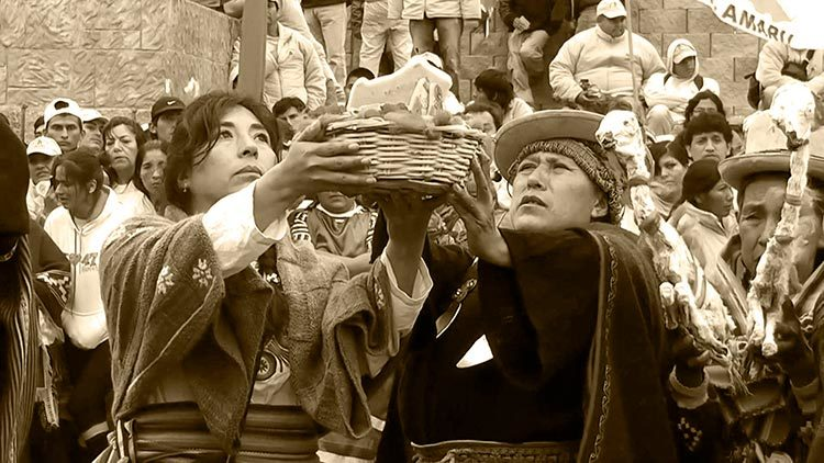 Before Christmas, the Andean celebrated Capac Raymi
