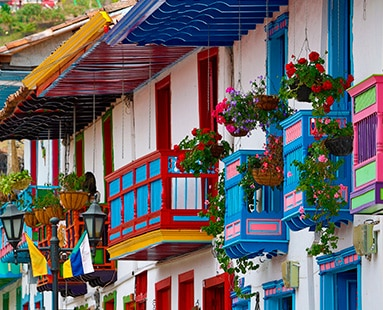 luxury travel to colombia houses