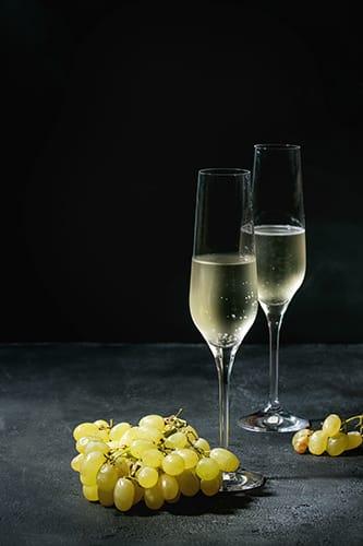 new year in peru champagne grape
