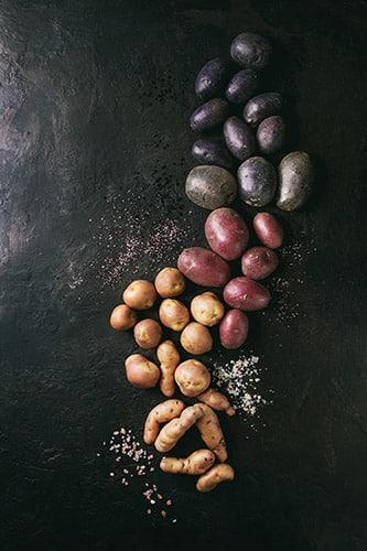 new year in peru potatoes