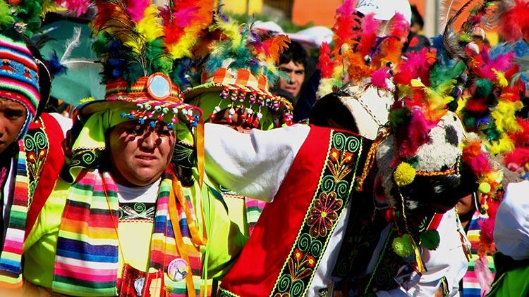 La candelaria Peruvian Festivals