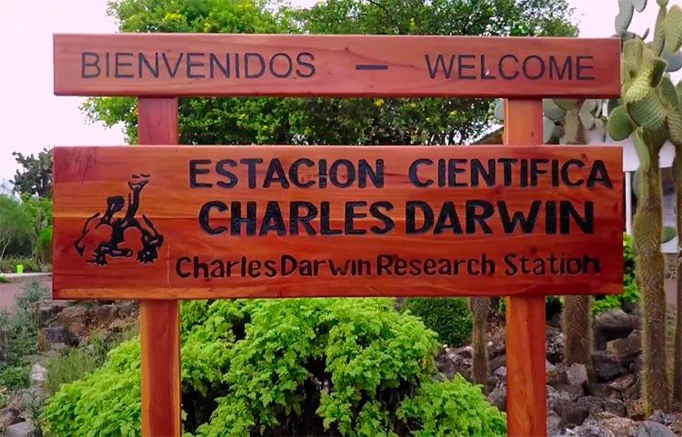 Charles Darwin estation