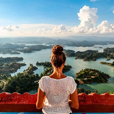 honeymoon in Colombia