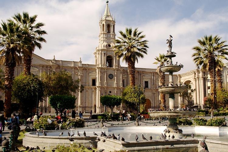 Arequipa Peru main square