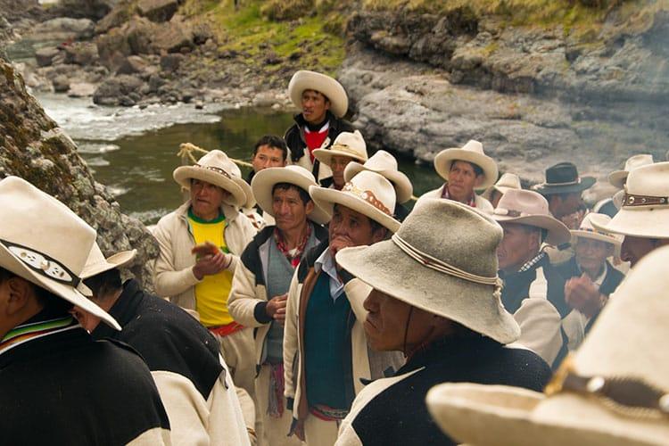 Qeswachaca brigde Peru