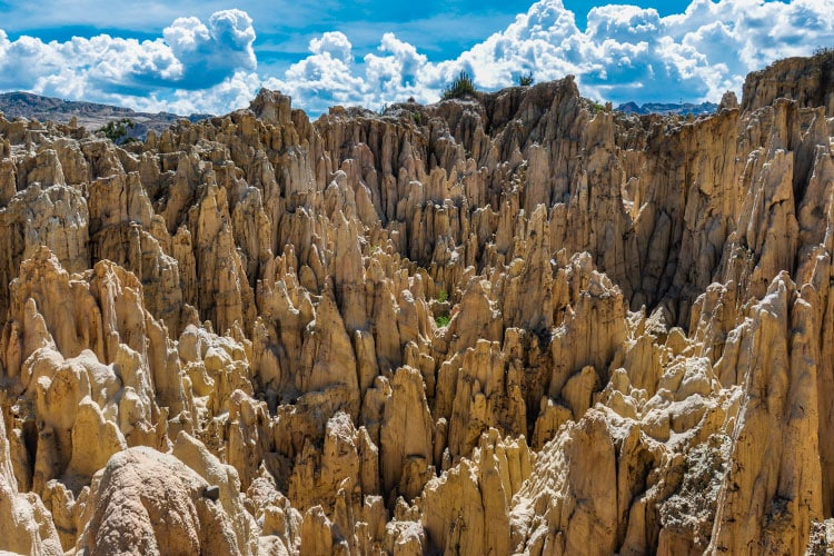 Bolivia's Otherworldly Moon Valley