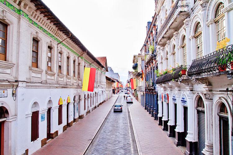 Cuenca modern city
