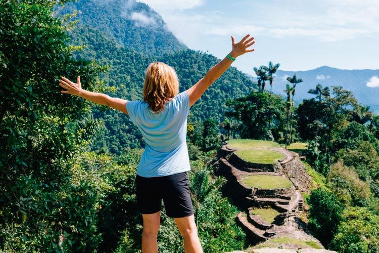 trek lost city Colombia