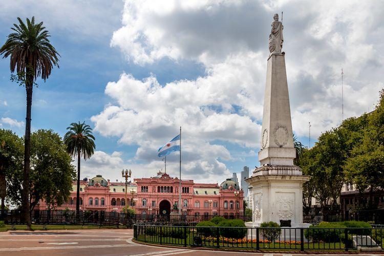 Main Square Buenos Aires Argentina