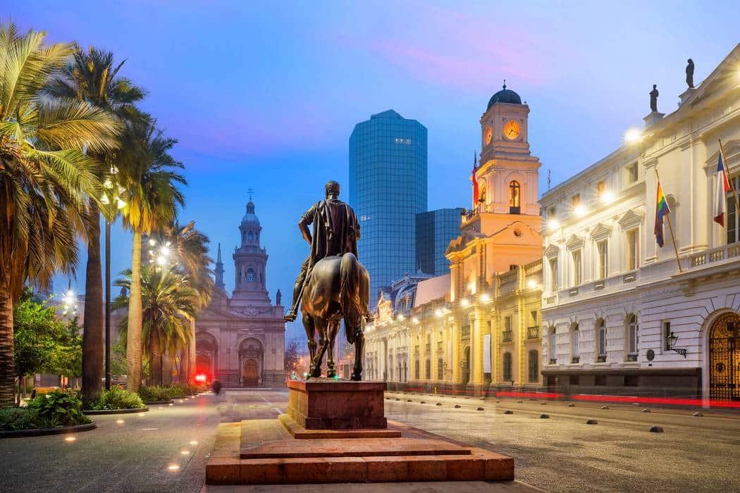 Santiago main square