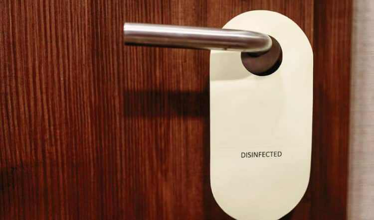New levels of cleanliness for hotels