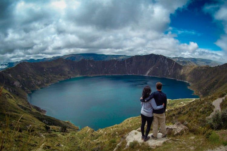 Quilotoa Lagoon Ecuador Travel