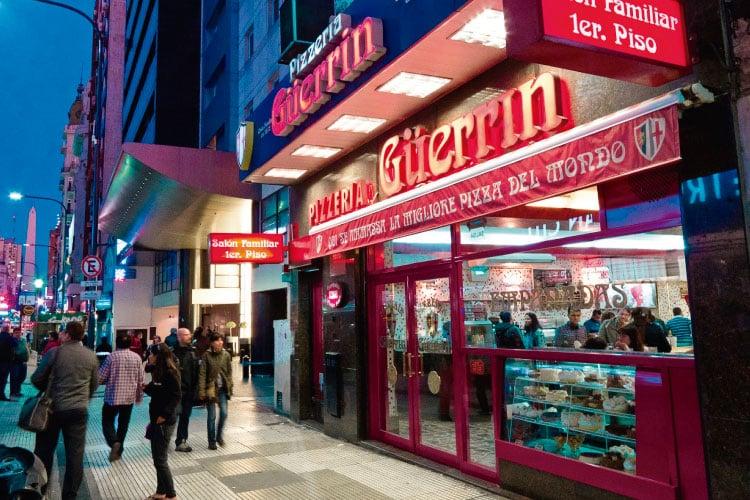 Guerrin Pizzeria Argentina Travel